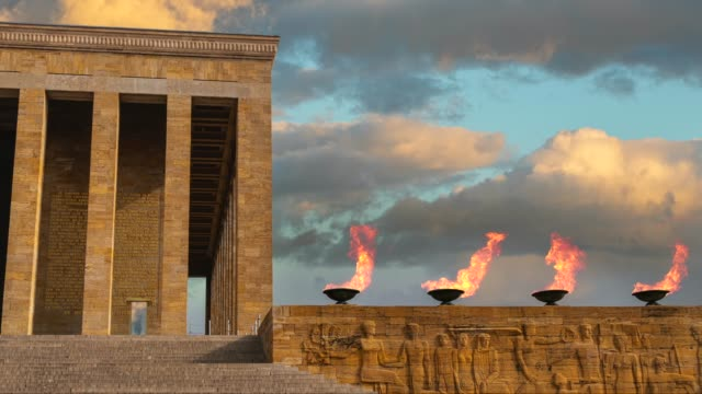 ataturk's mausoleum - tomb stock videos & royalty-free footage