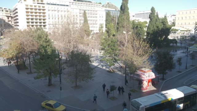 Athens 4K footage - Syntagma square