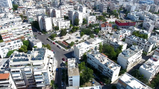 athens aerial view - athens greece stock videos & royalty-free footage