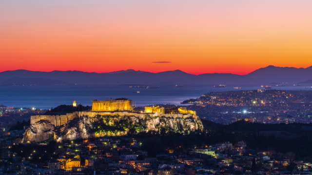 athens, greece - parthenon athens stock videos and b-roll footage