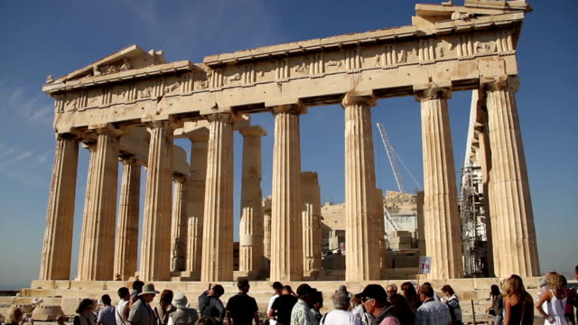athens - parthenon athens stock videos & royalty-free footage