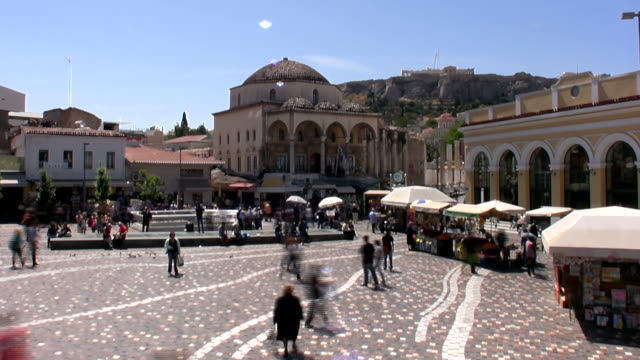 athens - parthenon athens stock videos and b-roll footage