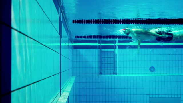 athlete in water - athlete stock videos & royalty-free footage