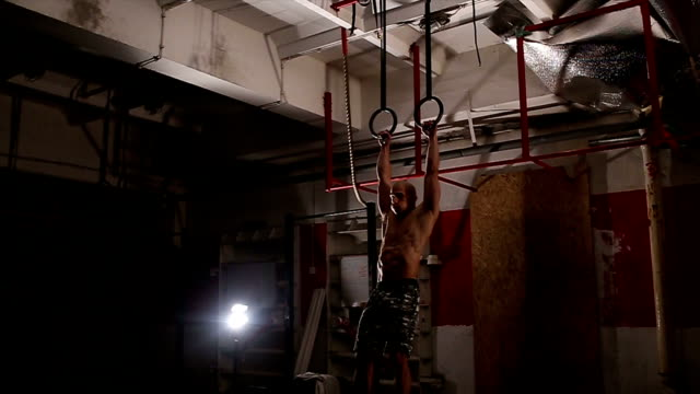 athlete working out at gym - pectoral muscle stock videos and b-roll footage
