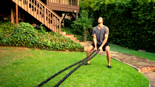 athletic male workout gym slow-motion - pectoral muscle stock videos and b-roll footage