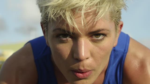 athletics - 精神統一点の映像素材/bロール