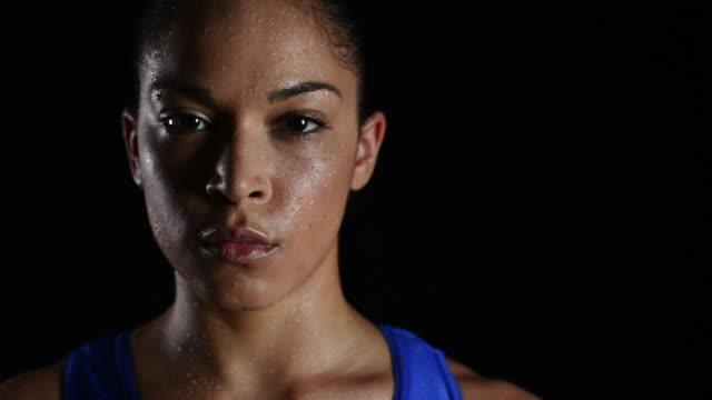 athletics - sweat stock videos & royalty-free footage