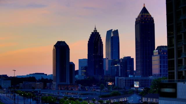 Atlanta, GA: Night to day time lapse