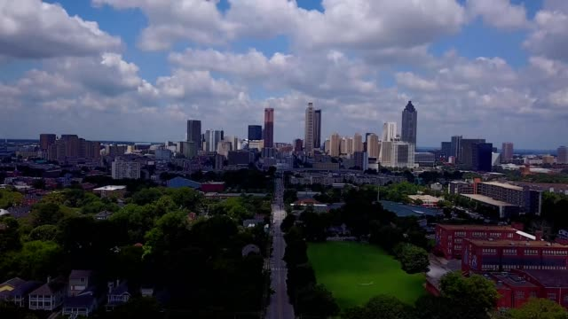 atlanta neighborhood view - atlanta stock videos and b-roll footage