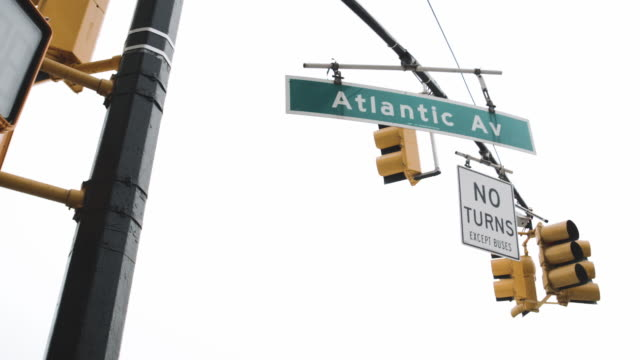 atlantic avenue, brooklyn - avenue stock videos & royalty-free footage