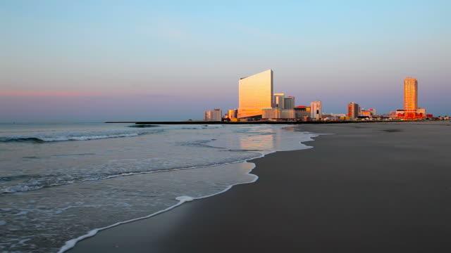 atlantic city, new jersey - atlantic city stock videos & royalty-free footage