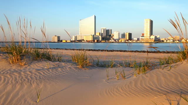 atlantic city, new jersey - water's edge stock videos & royalty-free footage