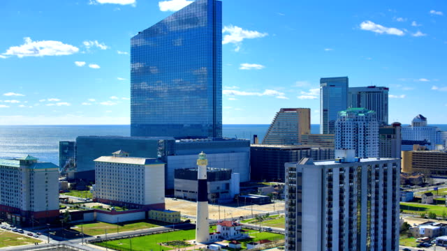 atlantic city, nj 4k footage - atlantic city stock videos & royalty-free footage