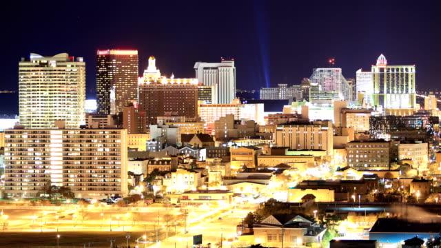 atlantic city, nj 4k footage - casino stock videos & royalty-free footage