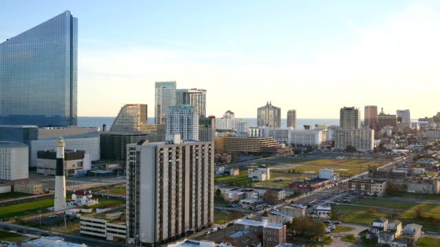 atlantic city, nj - atlantic city stock videos & royalty-free footage