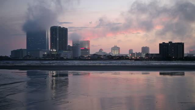 vídeos de stock, filmes e b-roll de atlantic city - atlantic city