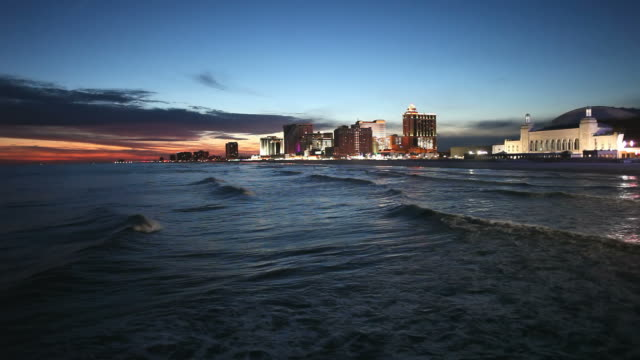 atlantic city - atlantic city stock videos & royalty-free footage