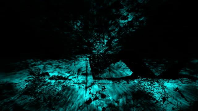 untamed view : atlantis - ruins, turquoise (loop) - atlantis stock videos and b-roll footage