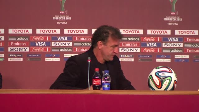 atletico mineiro coach cuca says his team failed when it mattered after their defeat against raja casablanca at the club world cup semifinal clean... - semifinal round stock videos and b-roll footage