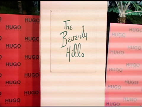 atmoaphere at the bash and celebration of hugo boss' fall winter 2005 collections at the beverly hilton in beverly hills, california on march 15,... - hugo boss stock videos & royalty-free footage
