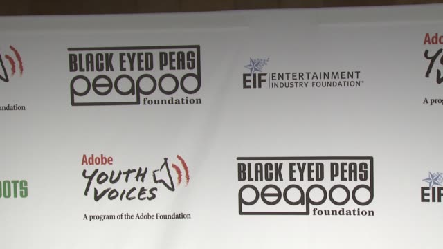 atmosphere 5th annual black eyed peas peapod foundation benefit concert at the 5th annual black eyed peas peapod foundation benefit concert at los... - benefit concert stock videos & royalty-free footage