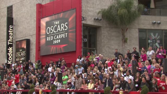 atmosphere - 81st academy awards arrivals at the 81st academy awards arrivals part 4 at los angeles ca. - academy awards stock videos & royalty-free footage