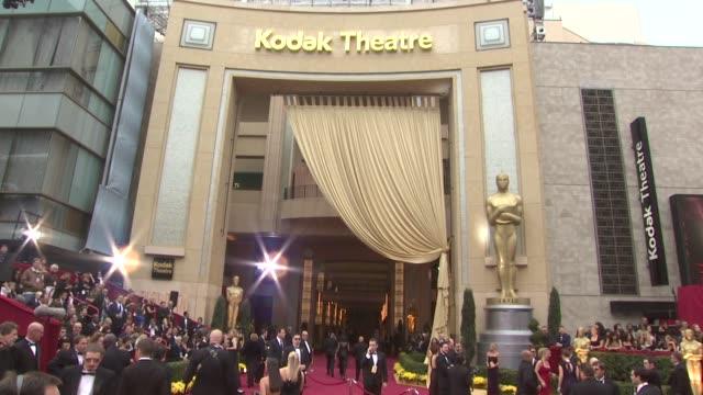 vídeos y material grabado en eventos de stock de atmosphere - 81st academy awards at the 81st academy awards arrivals at los angeles ca. - ambientación