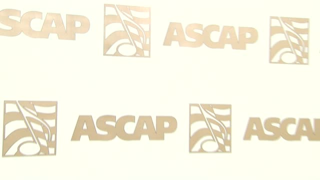 vidéos et rushes de atmosphere - ascap backdrop at the ascap film and tv music awards at the kodak theatre in hollywood, california on april 17, 2007. - ascap