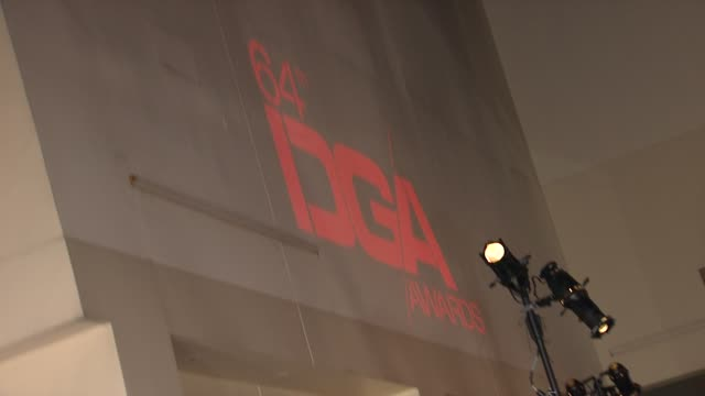 Atmosphere at 64th Annual DGA Awards Arrivals on 1/28/12 in Los Angeles CA