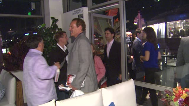 atmosphere at arnold schwarzenegger celebrates the launch of his autobiography, total recall with a party at s mixology101 on 10/5/12 in los angeles,... - biographie stock-videos und b-roll-filmmaterial