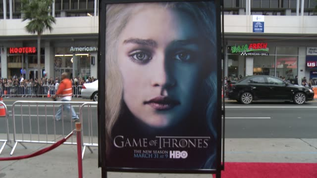 Atmosphere at Game of Thrones Season 3 Premiere on 3/18/13 in Los Angeles CA