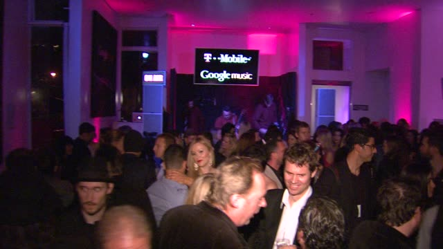 atmosphere at red light management postgrammy celebration hosted by tmobile and google music on 2/12/12 in los angeles ca - google brand name stock videos and b-roll footage