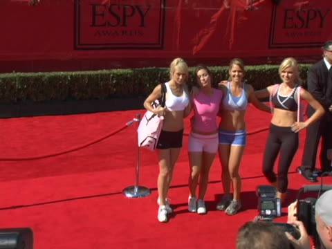 atmosphere at the 13th annual espy awards arrivals at kodak theatre in hollywood, ca. - espy awards stock videos & royalty-free footage