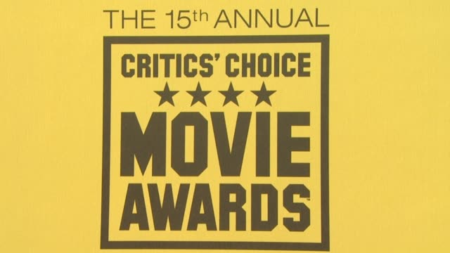Atmosphere at the 15th Annual Critics' Choice Movie Awards at Hollywood CA