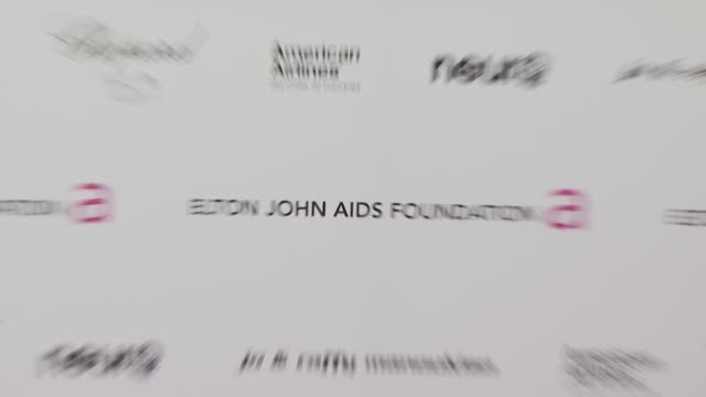 atmosphere at the 18th annual elton john aids foundation oscar party at west hollywood ca. - oscar party stock videos & royalty-free footage