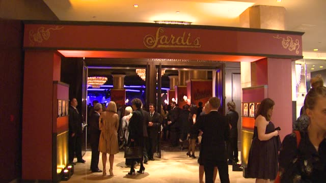 Atmosphere at the 19th Annual 'A Night At Sardi's' Benefitting The Alzheimer's Association at Beverly Hills CA