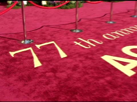 vídeos y material grabado en eventos de stock de atmosphere at the 2005 annual academy awards arrivals at the kodak theatre in hollywood, california on february 28, 2005. - ambientación