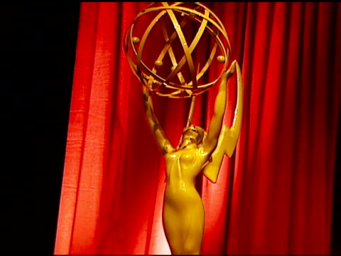 atmosphere at the 2006 emmy awards nominations announcement at the leonard h. goldenson theatre in los angeles, california on july 6, 2006. - emmy awards nominations stock videos & royalty-free footage