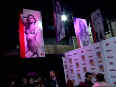 atmosphere at the 2006 sports illustrated swimsuit issue photocall at crobar in new york new york on february 14 2006 - sports illustrated swimsuit issue stock videos & royalty-free footage