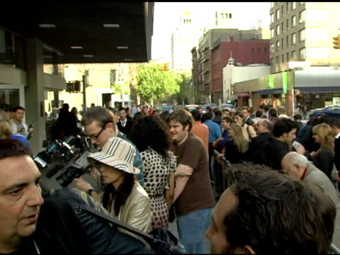 atmosphere at the 2006 tribeca film festival 'full grown men' and 'freedom's fury' at amc loews 11th st cinemas in new york new york on april 27 2006 - amc loews stock videos and b-roll footage