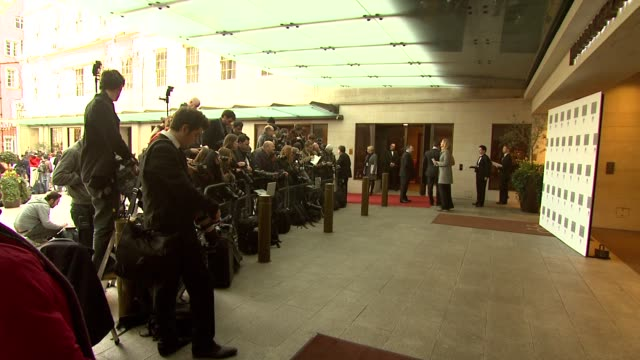 Atmosphere at the 2010 Laurence Olivier Awards at London England