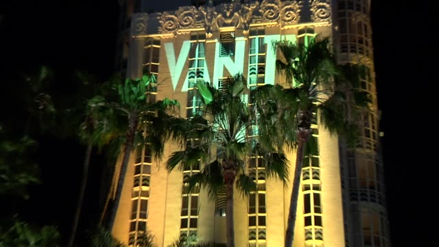 atmosphere at the 2010 vanity fair oscar party hosted by graydon carter at west hollywood ca. - vanity fair oscar party stock videos & royalty-free footage