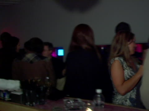 atmosphere at the 31st annual toronto international film festival motorola late night lounge day 2 at club v in toronto ontario - 2日目点の映像素材/bロール