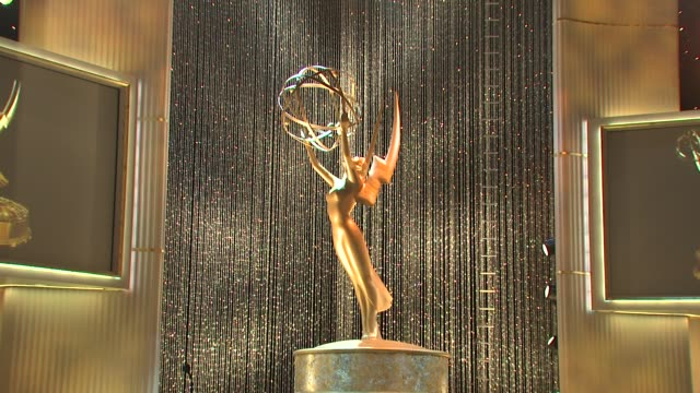 atmosphere at the 36th annual daytime entertainment emmy awards rehearsal at los angeles ca - daytime emmy preisverleihung stock-videos und b-roll-filmmaterial