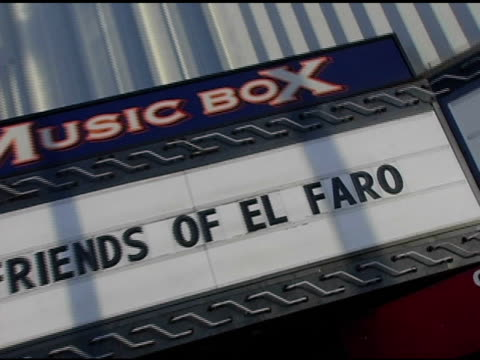 atmosphere at the 3rd annual 'night with the friends of el faro' benefit hosted by molly sims on may 13, 2005. - molly sims stock videos & royalty-free footage
