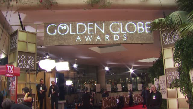 atmosphere at the 67th annual golden globe awards arrivals part 1 at beverly hills ca - ゴールデングローブ賞点の映像素材/bロール