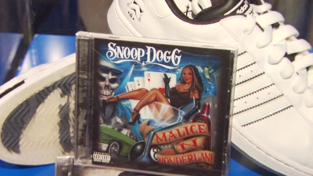 atmosphere at the adidas & snoop dogg celebrate more malice deluxe album and mini movie at hollywood ca. - snoop dogg stock videos & royalty-free footage