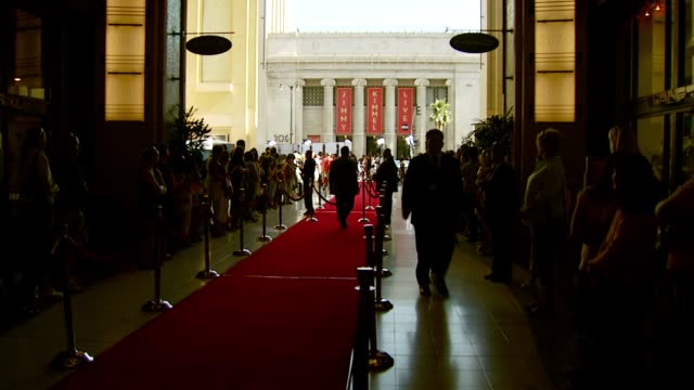 atmosphere at the al pacino honored with 35th annual afi life achievement award at the kodak theatre in hollywood, california on june 7, 2007. - afi life achievement award stock videos & royalty-free footage