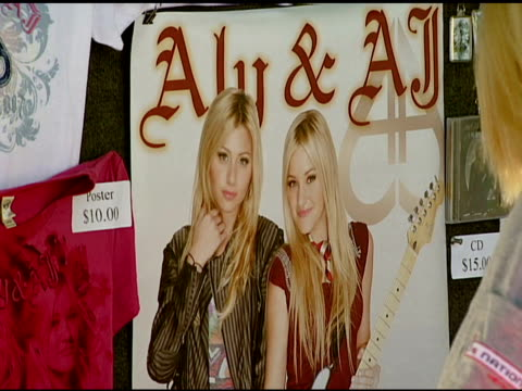 Atmosphere at the Aly and AJ Presented with Custom Fender Guitars to KickOff Summer Tour at Verizon Amphitheater in Irvine California on July 12 2007