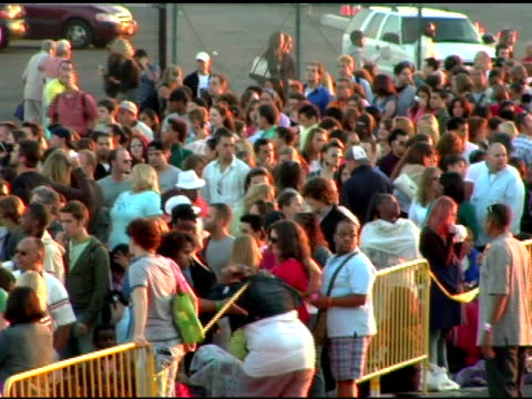 atmosphere at the 'american idol' season 6 new york/new jersey auditions at continental airlines arena in east rutherford new jersey on august 14 2006 - american idol stock videos and b-roll footage